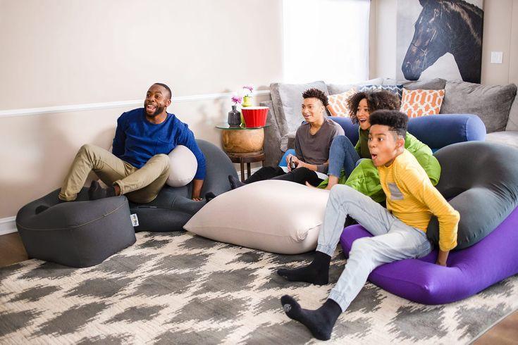 Menggunakan Bean Bag Sebagai Pengganti Sofa
