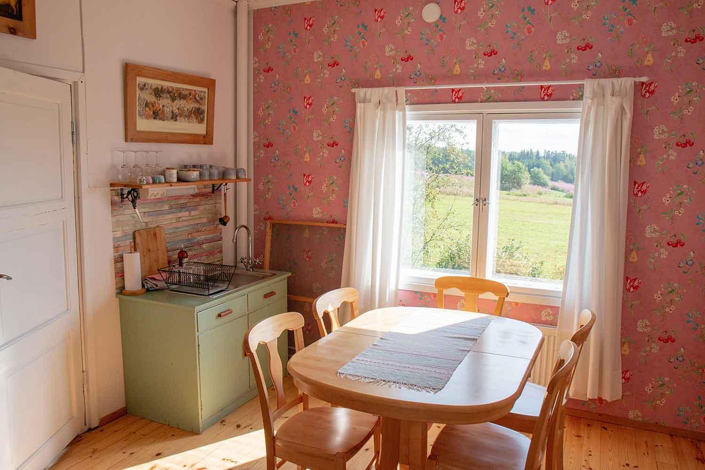 Dinding Dapur Warna Pink