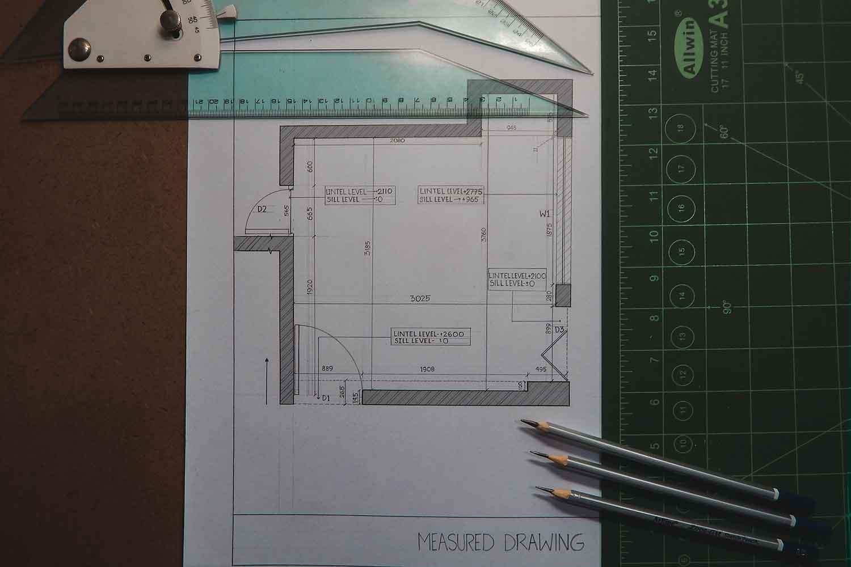Desain Sketsa Rumah Minimalis Open Plan