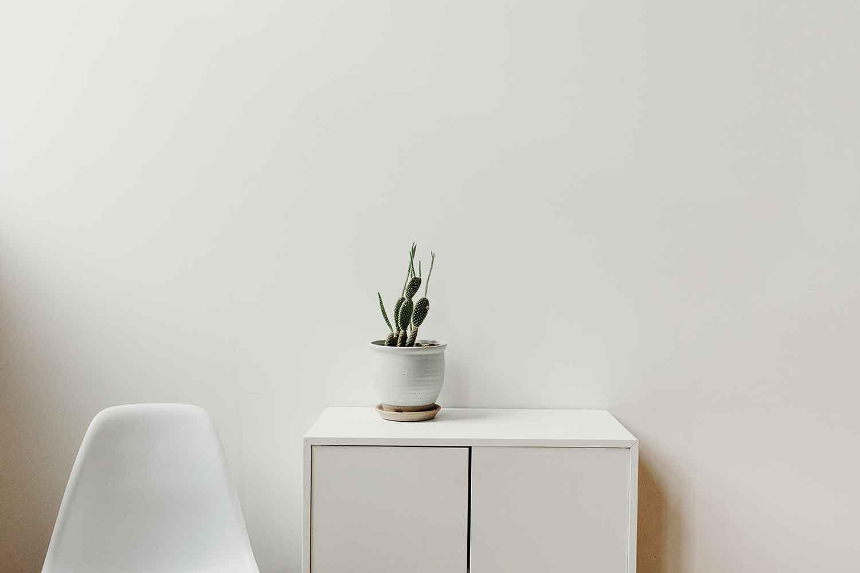 Warna Putih Yang Minimalis
