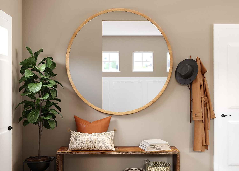 Letakkanlah Cermin Menempel Pada Dinding