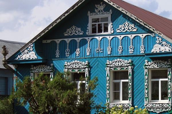 Rumah minimalis ornamen