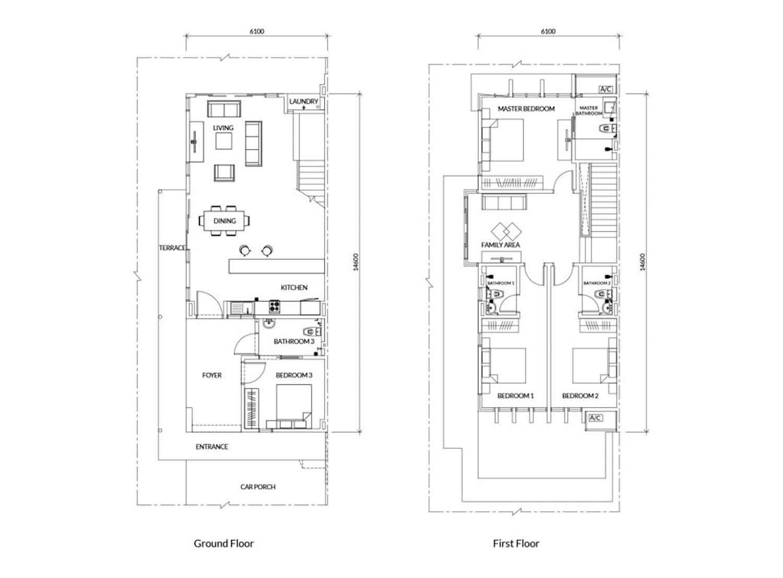 Rumah Tipe 70 Sederhana Dengan Carport
