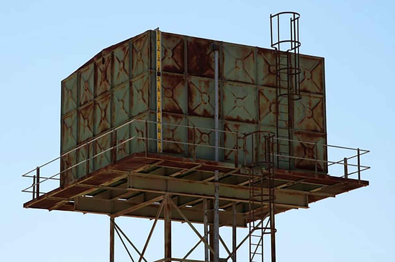 Pembuatan struktur menara tangki air